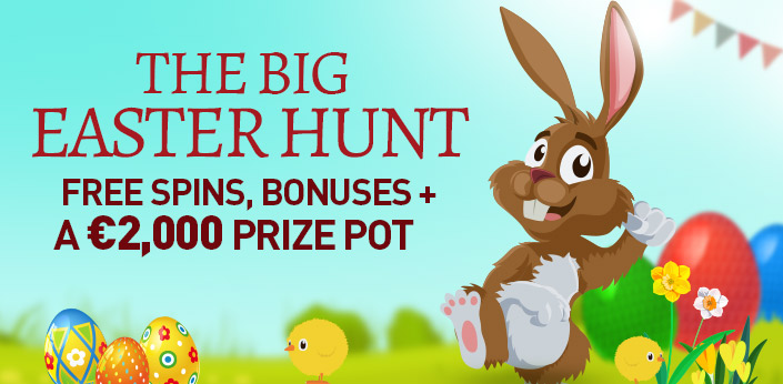 The CasinoRoom Easter Egg Hunt Is On Now