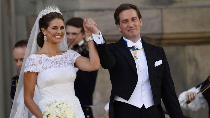 Zweedse Prinses Madeleine Bevallen Van Een Meisje