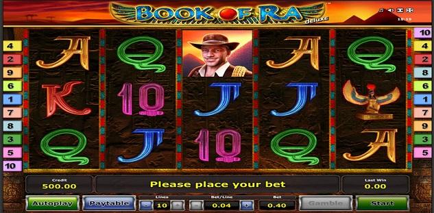 Jeu De Casino Book Of Ra