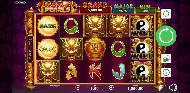 Dragon Pearls : Hold & Win