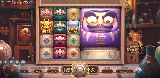 Lucky Neko : Gigablox