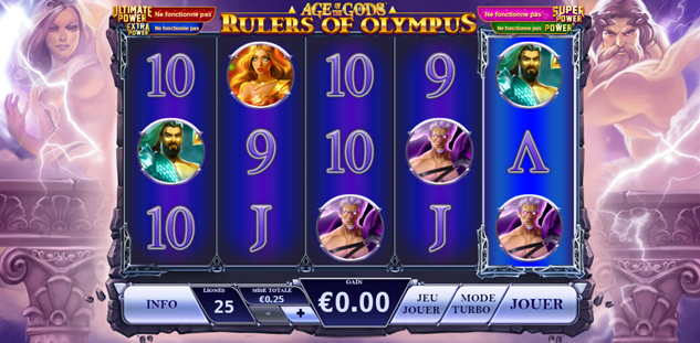 Age of the Gods : Rulers of Olympus