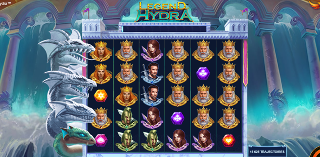 Legend of Hydra: Power Zones