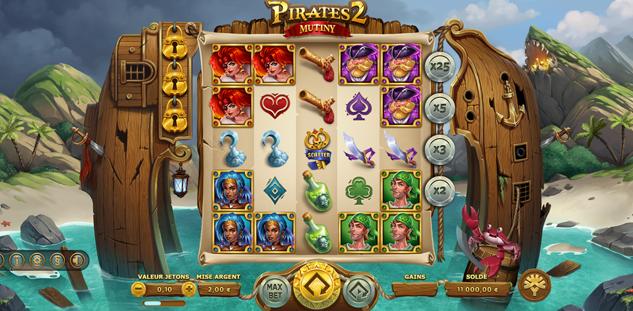 Pirates 2 : Mutiny