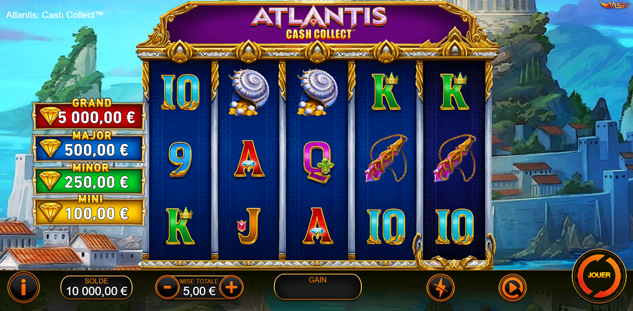 Atlantis : Cash Collect